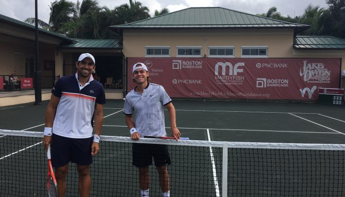 South American Veterans, Young Americans Advance At Mardy Fish Tennis