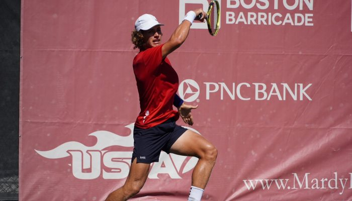 Canada's Liam Draxl Reaches Singles Semis, Doubles Final At Mardy Fish Futures